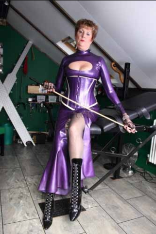 with strapon Mistress